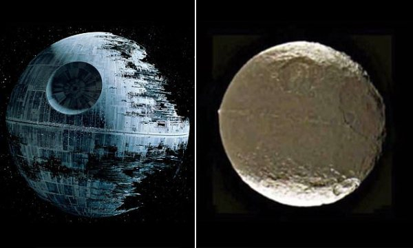 Could Saturn's moon Iapetus be an alien Death Star | Daily ...