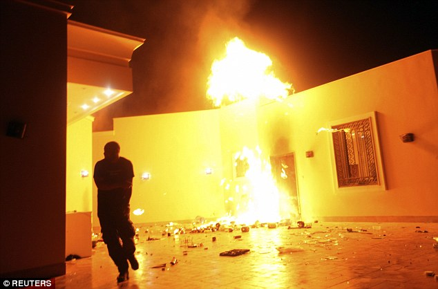 Terrorists stormed the diplomatic compound and launched a mortar attack on a CIA facility in Benghazi