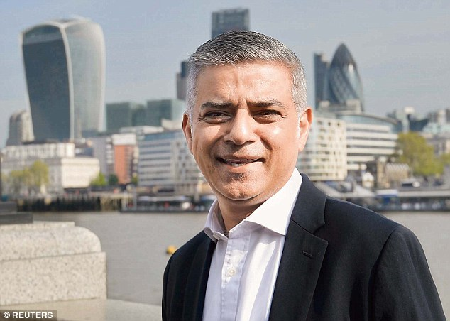 A spokesman for Mr Khanrefused to say if the mayor, pictured on his first day at work at City Hall, will return the £15,000