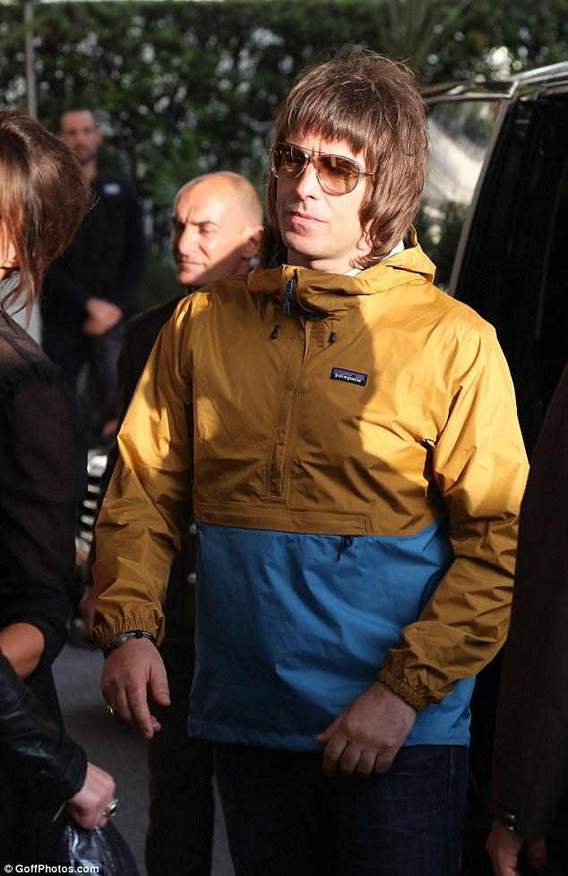Liam Gallagher Hits Cannes Film Festival In Bright Anorak