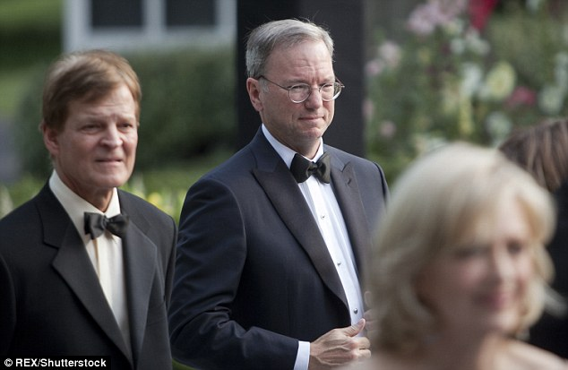 Schmidt also attended a White House State Dinner with German Chancellor Angela Merkel