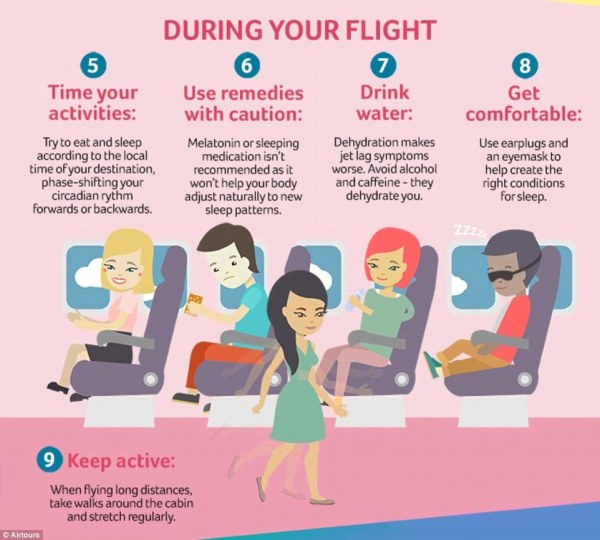 The 15 best ways to beat jet lag | Daily Mail Online