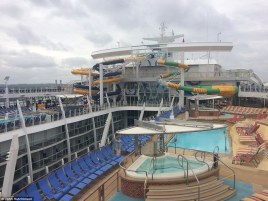 Afbeeldingsresultaat voor harmony of the seas water slide