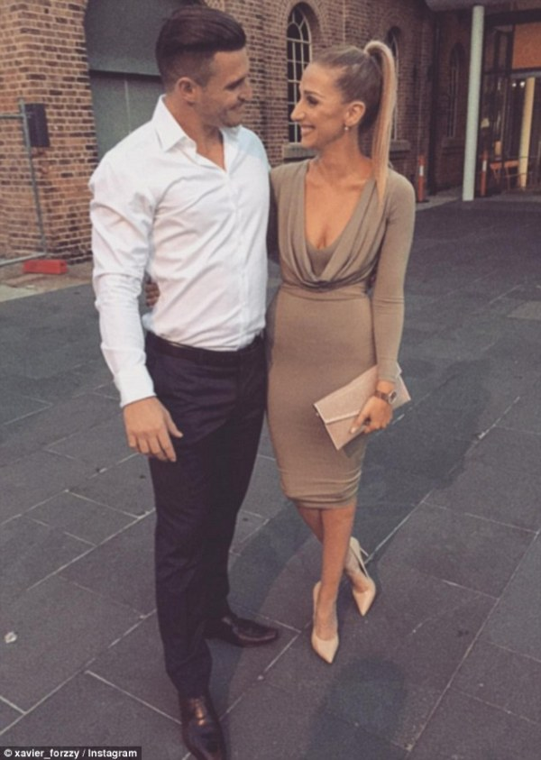 Married at First Sight's Xavier poses with mystery blonde ...