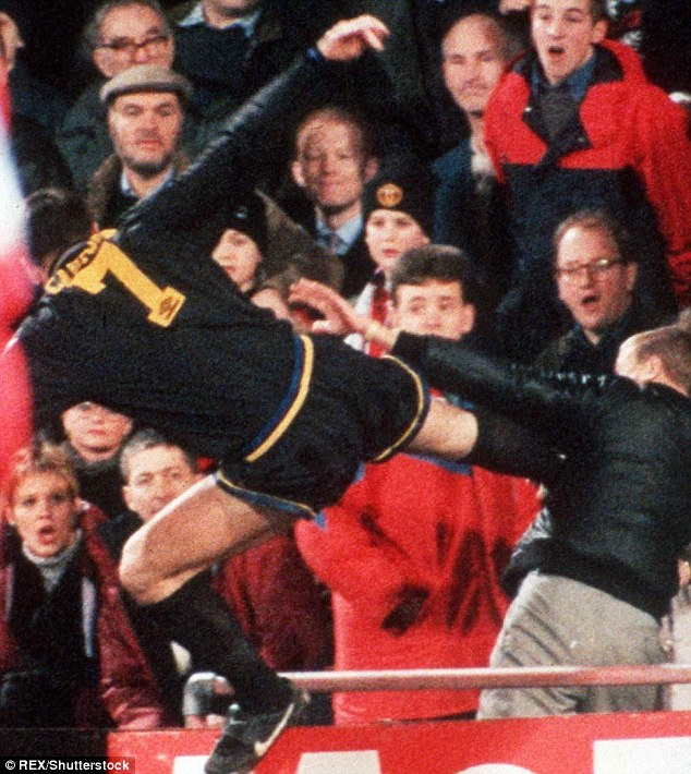 I should have hit him harder. How Cantona Sparked Manchester United S Golden Age Daily Mail Online