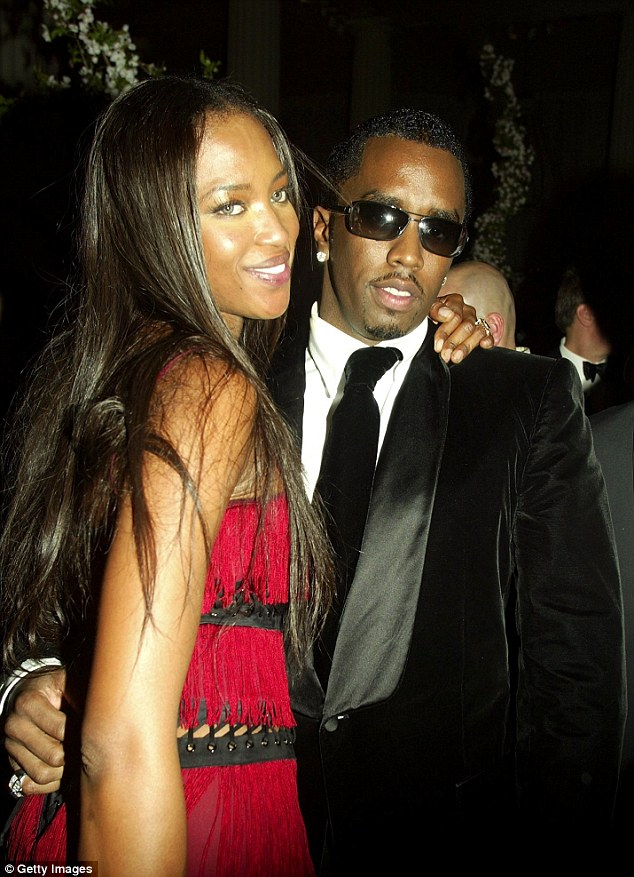 Throwback: Diddy and Naomi, here in April 2003, were once dubbed the ultimate power couple