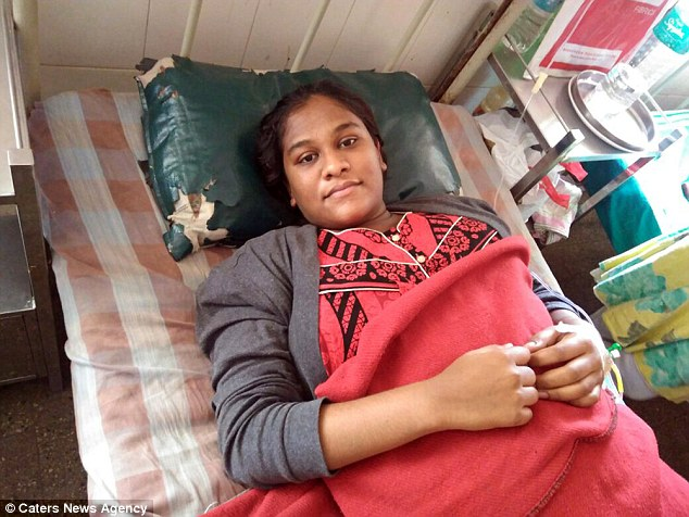 Nandini, 19, who goes only by her initial name, welcomed her first child, a daughter, by C-section on Monday evening at a government-run hospital in Hassan in southern state Karnataka