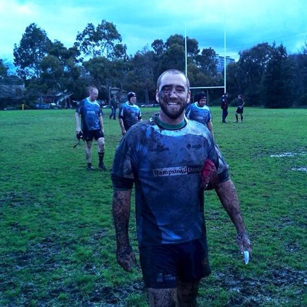 The 33-year-old  had flew to the United States for a rugby union tournament with teammates last week