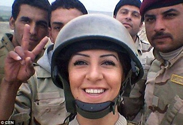 Miss Palani first joined the YPG (People's Protection Unit) and then the Peshmerga, the Western-trained and backed army of the Kurdish Regional Government