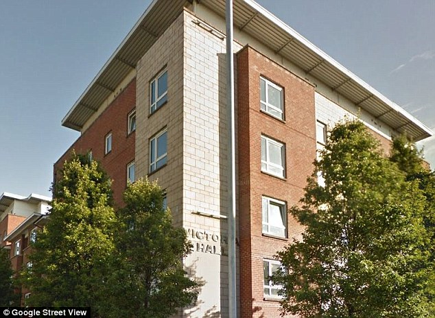 Location: Nazir had conducted surveillance on student activities at Victoria Halls of Residence at the University of Manchester (pictured), taking 38 images on his mobile phone