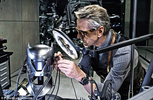 Irons as Alfred in Batman v Superman, 2016 which attracted negative reviews but took £800 million. 'The kicking didn't matter but it was sort of overstuffed… It was very muddled,' he said