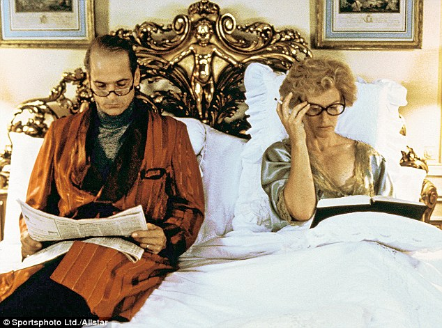 Irons with Glenn Close in Reversal Of Fortune, 1990 for which he won an Oscar. 'I don't have prejudices because I spend my life playing people of completely different ways of thought,' he said