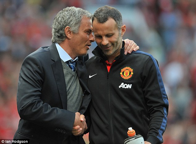 Image result for Why I left Manchester United after Mourinho's arrival – Giggs