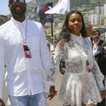 Cute Couple Alert:Gabrielle Union & Dwayne Wade In Monaco