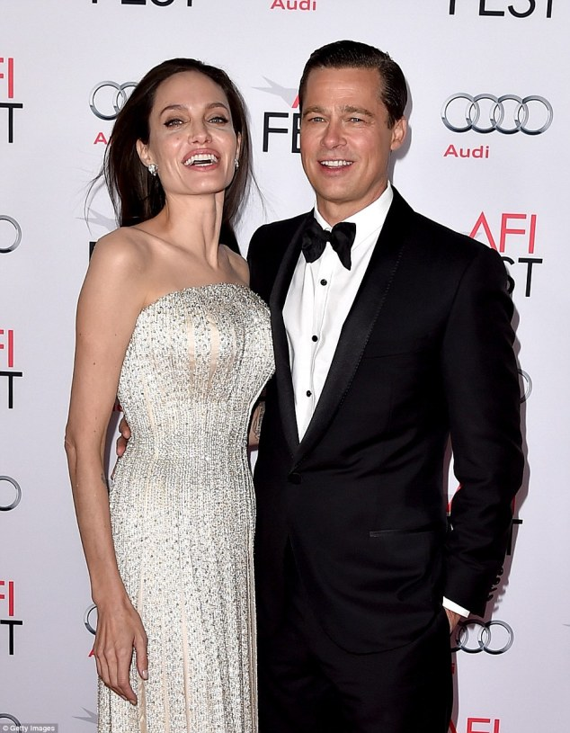 Power couple: Brad Pitt, 52, and Angelina Jolie's latest property purchase is reportedly a luxury Majorcan villa in the ancient town of Andratx for £2.65 million