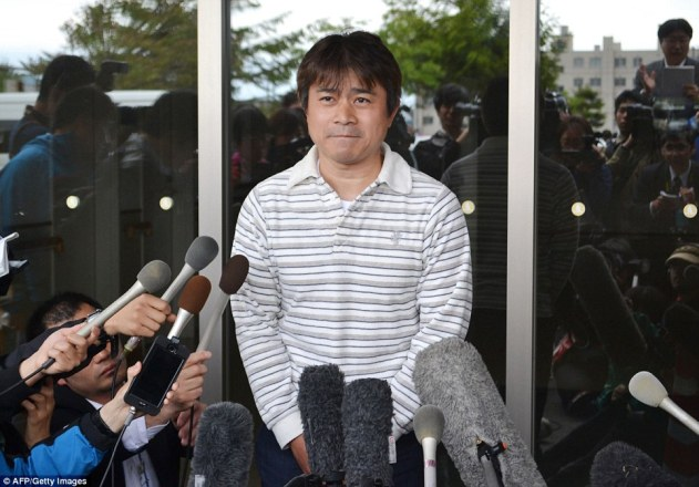 'We went too far': Tamayuki Tanooka, Yamato's father, has apologised to his son and those involved in the search effort