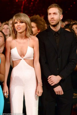 It's over: Now that Taylor Swift's 'magical' 15-month relationship with Calvin Harris has fizzled, differing reports have flooded in over who dumped whom and why (pictured in 2015)