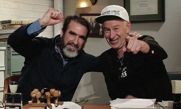 Classic man utd videos and clips. Watch John McEnroe appoint Eric Cantona 'commissioner of ...