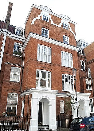 The house in South Kensington, where William Broeksmith was found hanged in January 2014