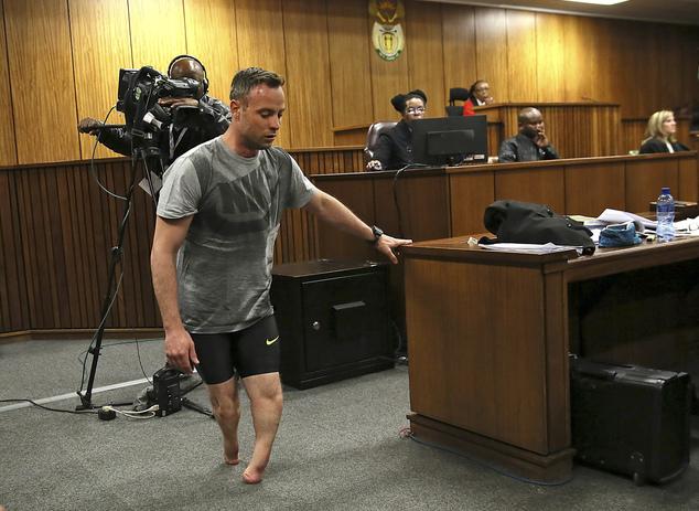 Pistorius Walks On Stumps For Judge Sentencing On July 6