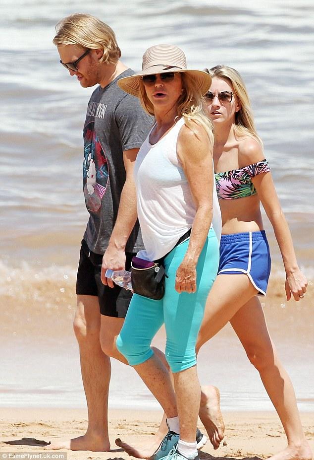 Goldie Hawn Attends Maui Film Festival With Son Wyatt