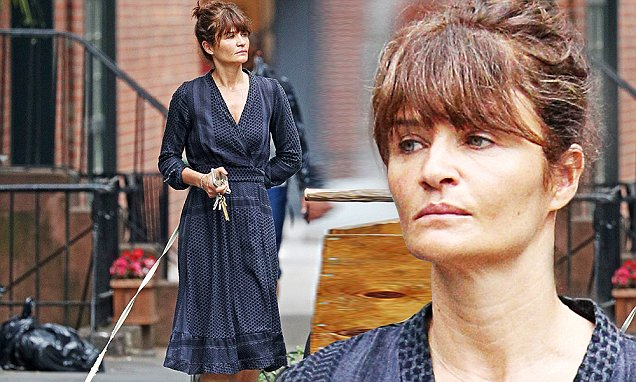 Helena Christensen Is Almost Unrecognizable With No Makeup