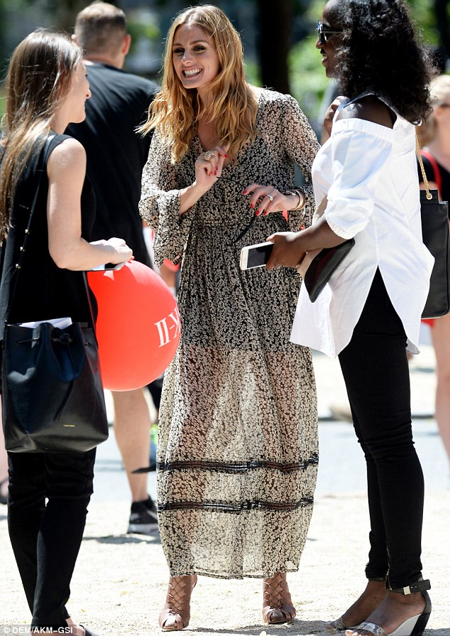 Olivia Palermo Wows In A Floral Maxi Dress For SK II Dream