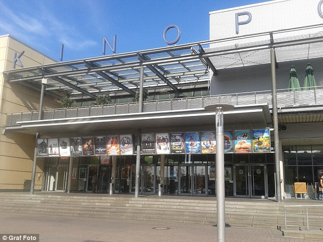 The gunman barricaded himself inside the cinema (stock photo)