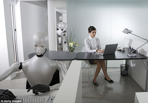 AI software which understands and answers work-related questions has been made available in the UK. Starminduses machine learning to understand queries, then source answers from previous staff conversations on a subject or track down experts within the company who are able to help (stock image)