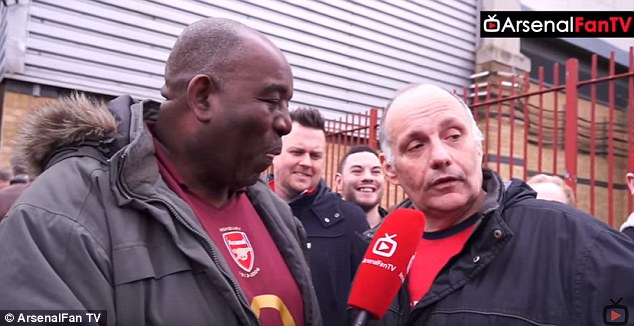 Image result for fan tv arsenal
