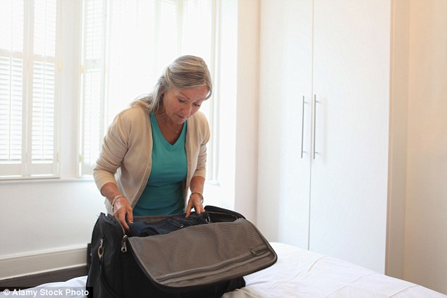 Use a squishy bag for hand luggage as it will fit more easily into difficult overhead cabin spaces