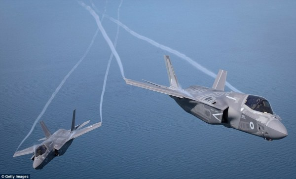 Amazing pictures show Britain's new supersonic F35 stealth ...