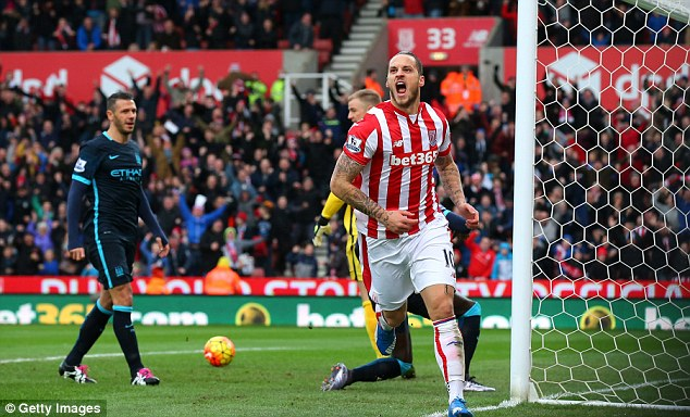 Marko Arnautovic played under Mourinho at Inter and is nowstarring in the English top-flight with Stoke