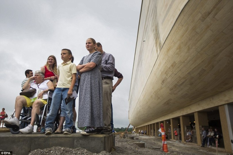 Ken Ham's group estimates it will draw 2 million visitors in its first year, making it a major tourist draw card for Kentucky