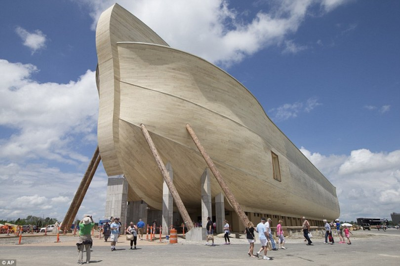 This 510-foot-long (155 metre), $135 million Noah's ark is the brain child of Australian creationist Ken Ham