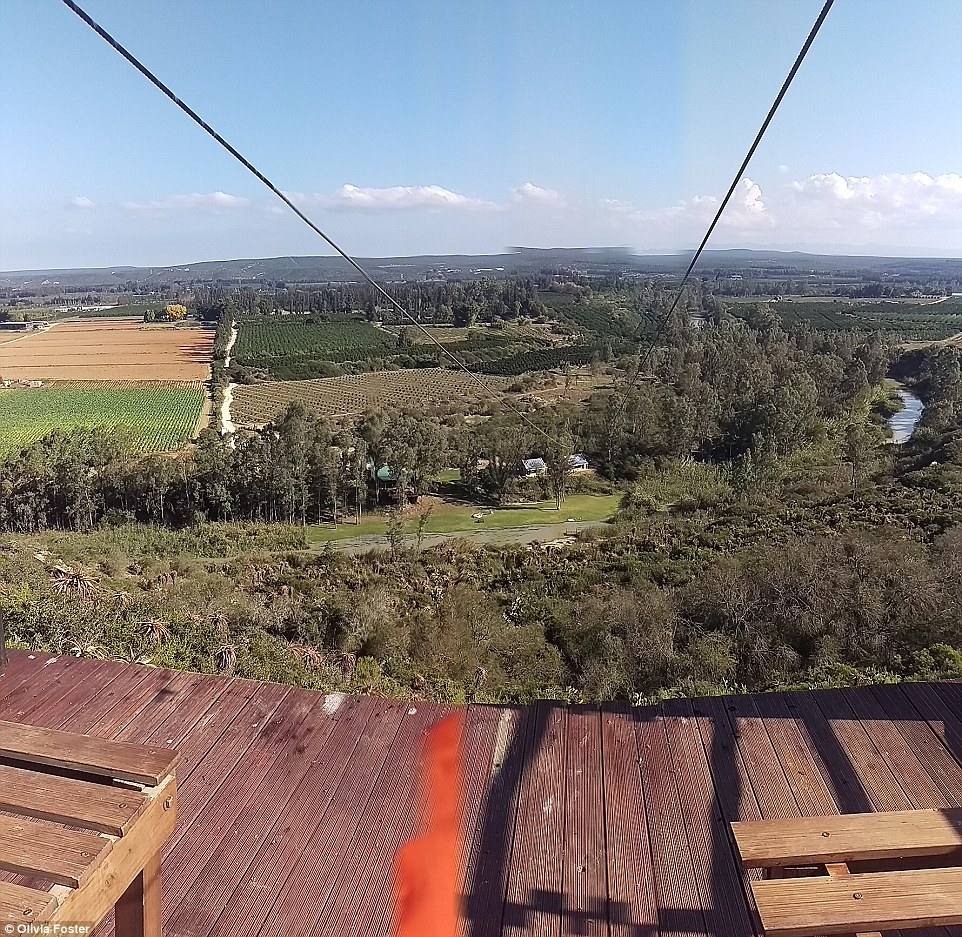 Thrillseekers will love the Adrenalin Addo zip line, which travels 250 metres across amazing scenery