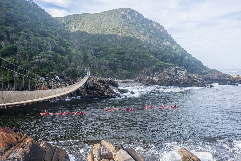 Go sea water kayaking with Untouched Adventures for an adrenaline-filled experience. Once out in the ocean you'll paddle out through the rolling waves and round under the famous Storms River Suspension bridge