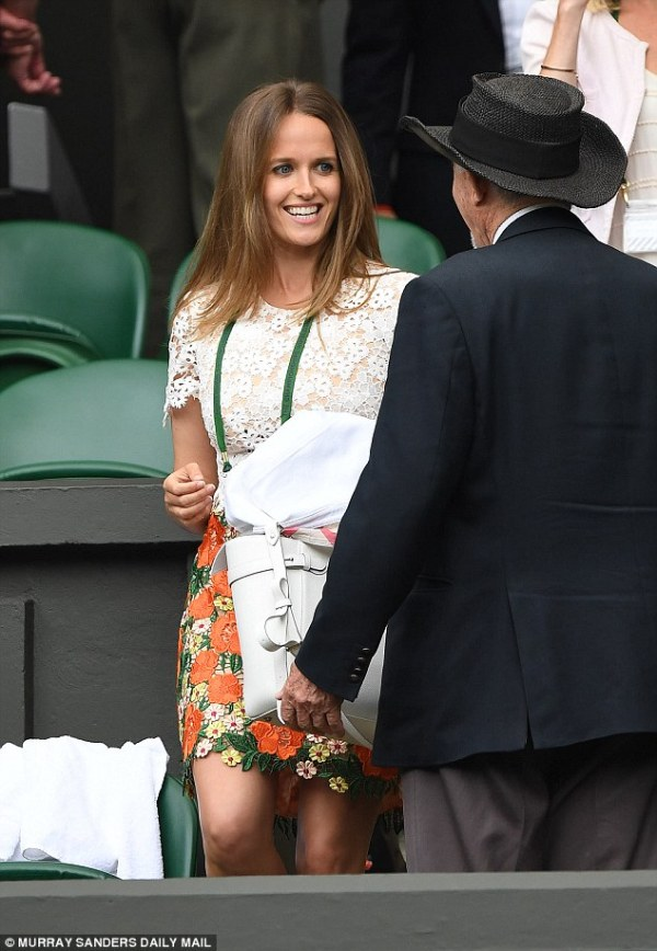 Kim Murray joins rival Ester Satorova in the Wimbledon ...