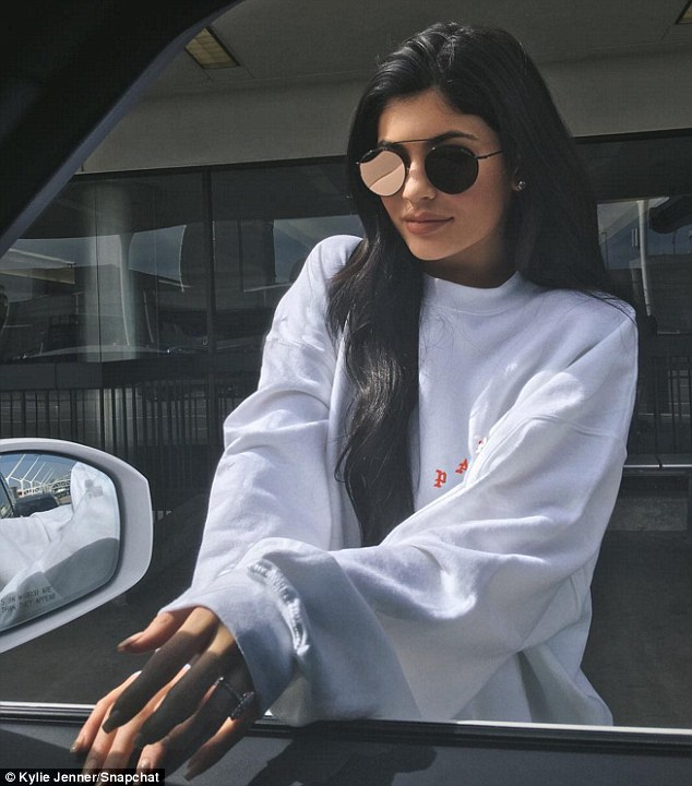 Teen bride?Kylie Jenner shared an Instagram snap on Friday, flaunting a huge   ring on her wedding finger