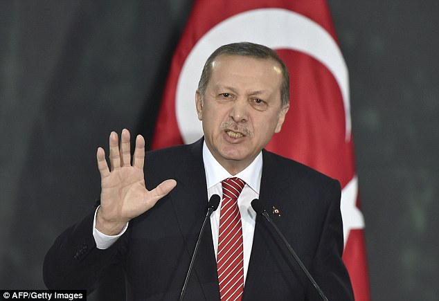 The Turkish authorities including prime minister Recep Erdogan, pictured, acknowledge the country has a grave problem of violence against women ¿ often involving wives killed by their husbands ¿ but activists say not enough action has been taken