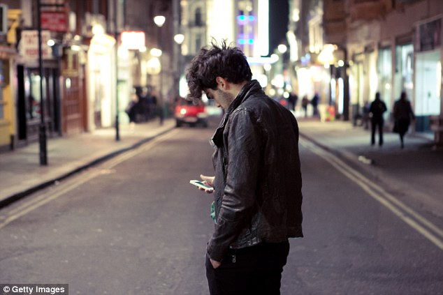 Image result for individuals crossing the street glued to their phones