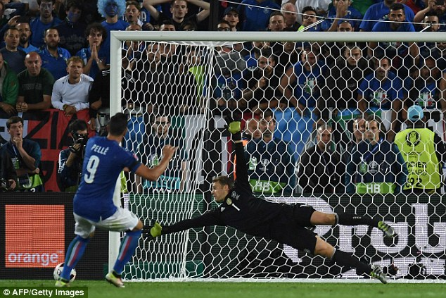 Pelle featured for Italy at Euro 2016 but missed a decisive spot-kick in the quarter-final defeat by Germany