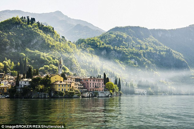 Lake Como has long served as a tranquil paradise for the rich and famous, with George Clooney and Madonna owning luxury villas there. But the town's railway station has been transformed into a makeshift camp