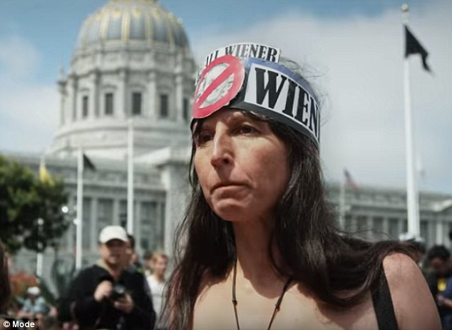 Liberation Nude Activist Gypsy Taun Pictured At A March In San Francisco Explains