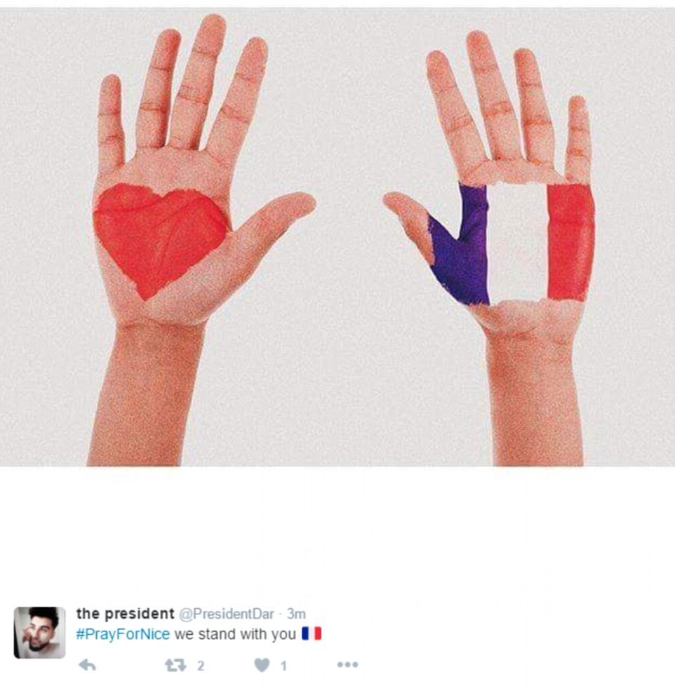 David Guetta And Paris Hilton Pray For Nice Terror Attack