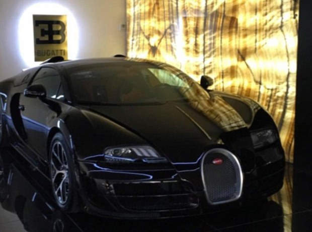 The  16.4 Grand Sport, which is in the top range of supercars made by Bugatti, is believed to have cost £1.7m