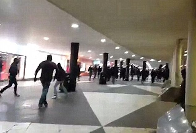 According to Swedish newspaper Aftonbladet there was a violent, unprovoked rampage at Stockholm station by a masked mob of neo-Nazis and football hooligans who were targeting migrants earlier this year