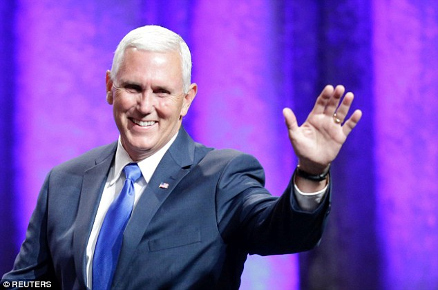 Indiana Gov. Mike Pence will be Donald Trump's running mate this fall on the Republican presidential ticket, and played up his foreign policy credentials in a speech Saturday
