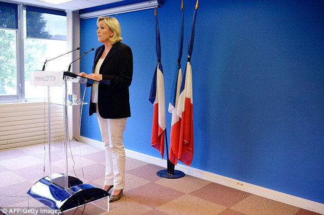 'In any other country in the world, a minister with a toll as horrendous as Bernard Cazeneuve - 250 dead in 18 months - would have quit,' French National Front Party Leader Marine Le Pen said