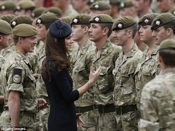Prince William and Kate Middleton in salute to SAS heroes ...